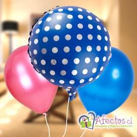Agrega: Ramillete tres globos Helio