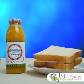 Agrega jugo + Sandwich