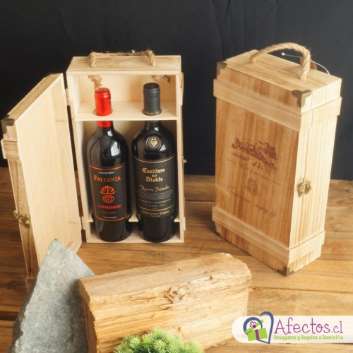 Caja de Vinos Gran reserva