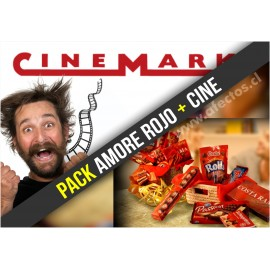 Pack Amore Rojo + Cine