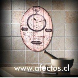 Agrega: Reloj de pared