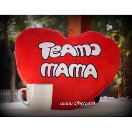 Agrega: Corazón grande de Te amo MAMÁ